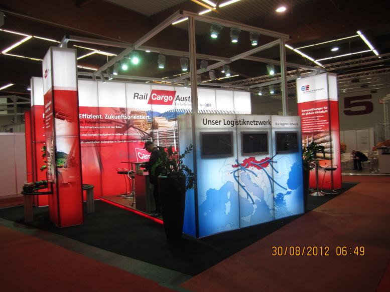 Kunde: Rail Cargo Groupe / Messe: Holzmesse Klagenfurt 2012