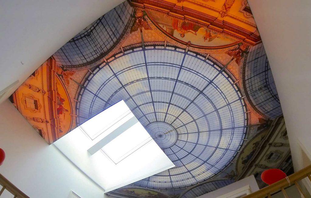 Die Gallerie in Mailand leuchtet