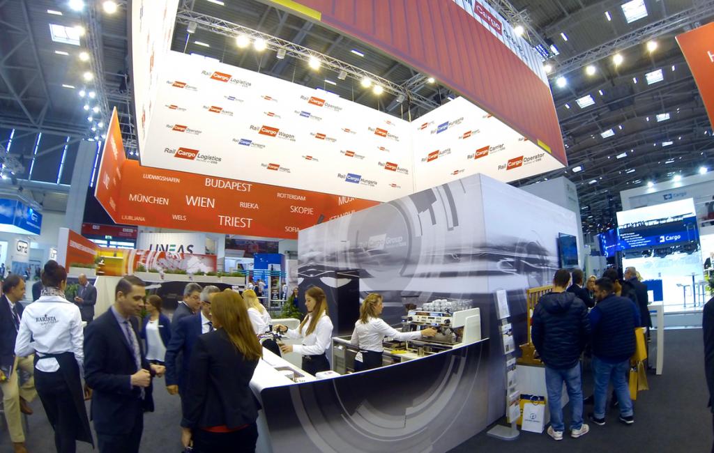 900 m2 Grafikgestaltung für 55.000 Besucher auf der Transport-Messe in München